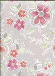 Ami Charming Prints Wallpaper Chloe 2657-22202 By A Street Prints For Brewster Fine Decor